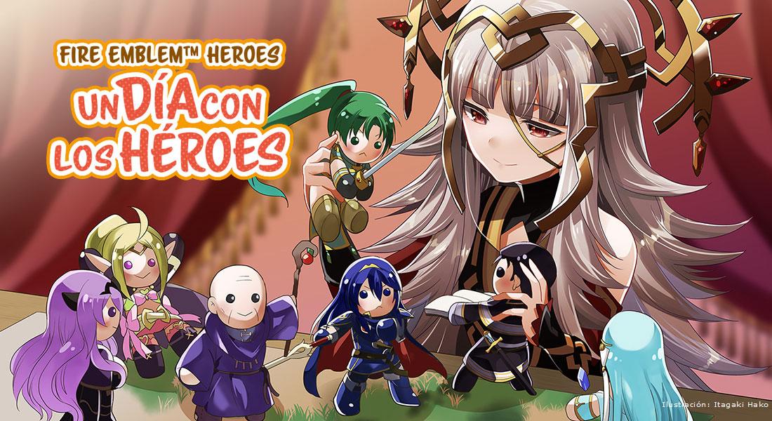 Un día con los héroes